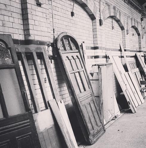 Broken Doors - Victoria Baths, Manchester